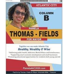 PAMELA THOMAS-FIELDS FOR MAYOR