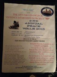 Peace Walk 2015