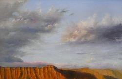 Bookcliff sunset  2005