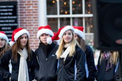 Looking on at Faneuil Hall