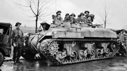 Sherman's as Personnel Carriers: