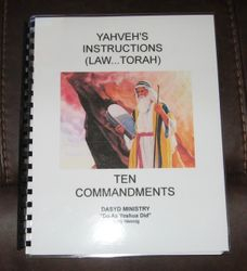 Yah's Instructions..Laws