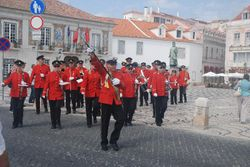 Another of the marching bands we saw in Cascais
