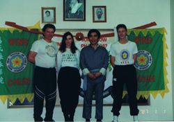 The Earles and Sifu Jim Fung 1991