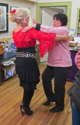 Nancy Teaching Latin Dance