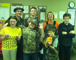 Spirit Week - Camo Day 2012