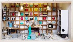 Ceramic studio