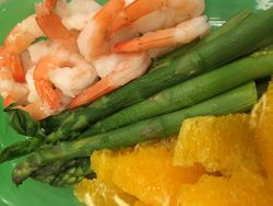 Asparagus Shrimp Salad