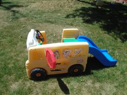 Little Tikes Wheels on the Bus Climber with Slide - $60