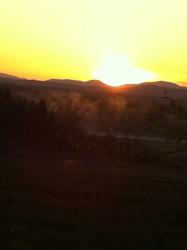 Beautiful sunrise 5-5-13