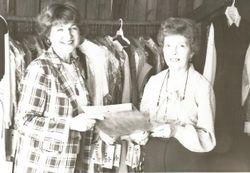 Marilyn Murphy and Carolyn Bell