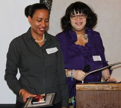 Recognizing the work of our Chair - Sharon