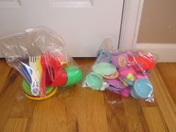 Dishes- $5 a bag