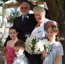 Gerri & Drew with family