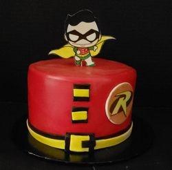 Baby Robin Superhero