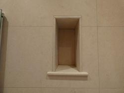 Limestone small niche