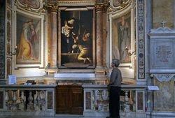 Caravaggio, Madonna of Loreto, S. Agostino, Rome
