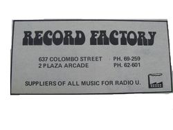 Record Factory (Christchurch)