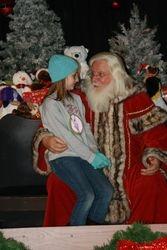 Laina and Santa