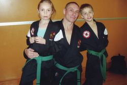 The family that trains together