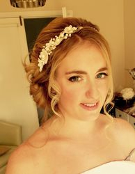 Stunning Updo for Jennifer and Airbrush makeup