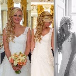 Beautiful long curls using Flip In Hair Extensions