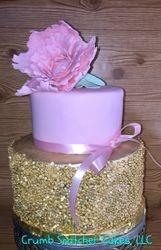 Pink & Gold Sequins