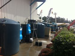DAF System treats and recycles up to 5000 litres of water a day