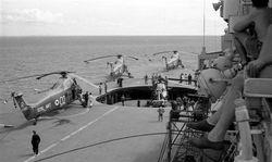 40 Commando on HMS Bulwark 1962-3