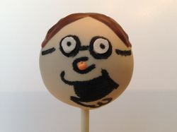 Peter Griffin Cake Pops