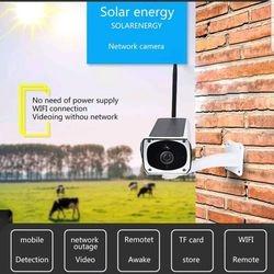 Solar Powered IP Wireless Camera