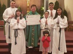 Fr. Joe /Altar servers