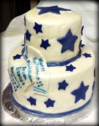 Dallas Cowboys Retirement Cake