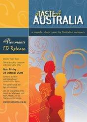 A taste of Australia CD release