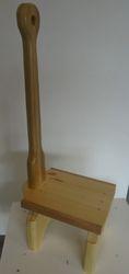 "Step stool: 9"" x 12"" X 30""high  $35.00"