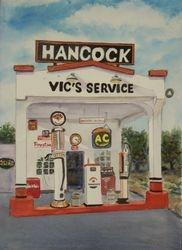 Hancock Station (Portrait), Lindsey