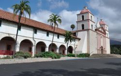 Santa Barbara Mission 1