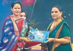 Hirkani Award by DD Sahydri