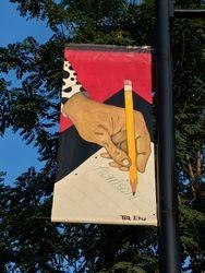 pencil banner