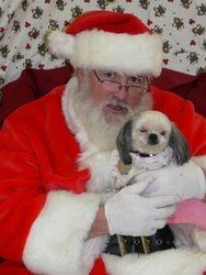 Santa and Zoey