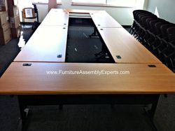 Folding table installation service in Washington DC