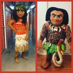 Moana & Maui