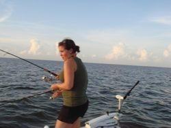 Adreinne's first Catch
