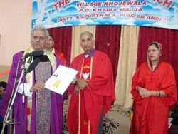 Most Rev. Dr. Madhu Krishan Consecrated  Rev. Harbhjan Singh As Bishop Of Punjab Diocese