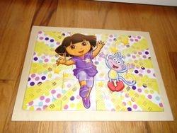 Nickelodeon Dora the Explorer Wood Puzzle - Dance - $5