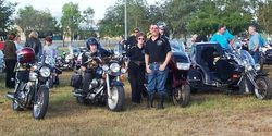Some of the members Gathering at Townsville Odyssey - Jun 2003