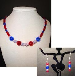 Red, White & Blue SET ($20.00 for set)