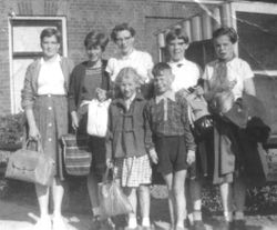 School trip 1955