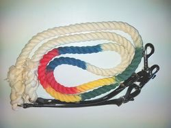 Multi-coloured Rope Reins