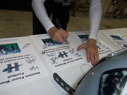 Autographing Flyers